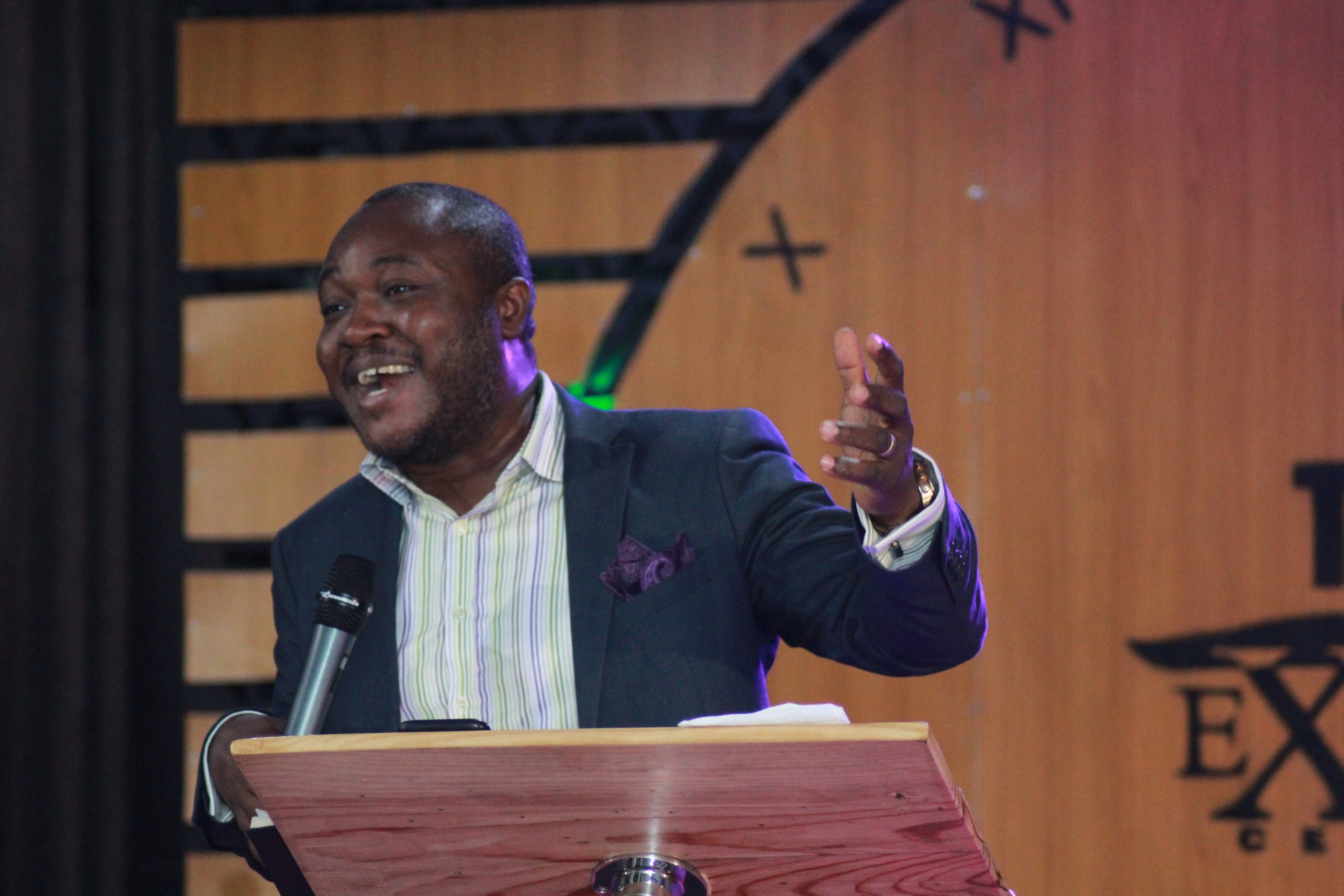 """pastor Tope Shaba teaching on the """"The voice of God"""""""